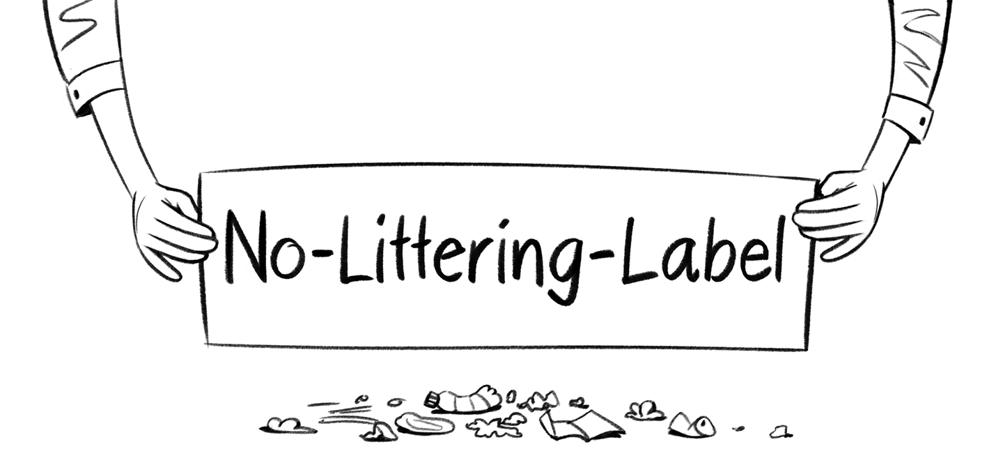 Go to start page of no-littering.ch